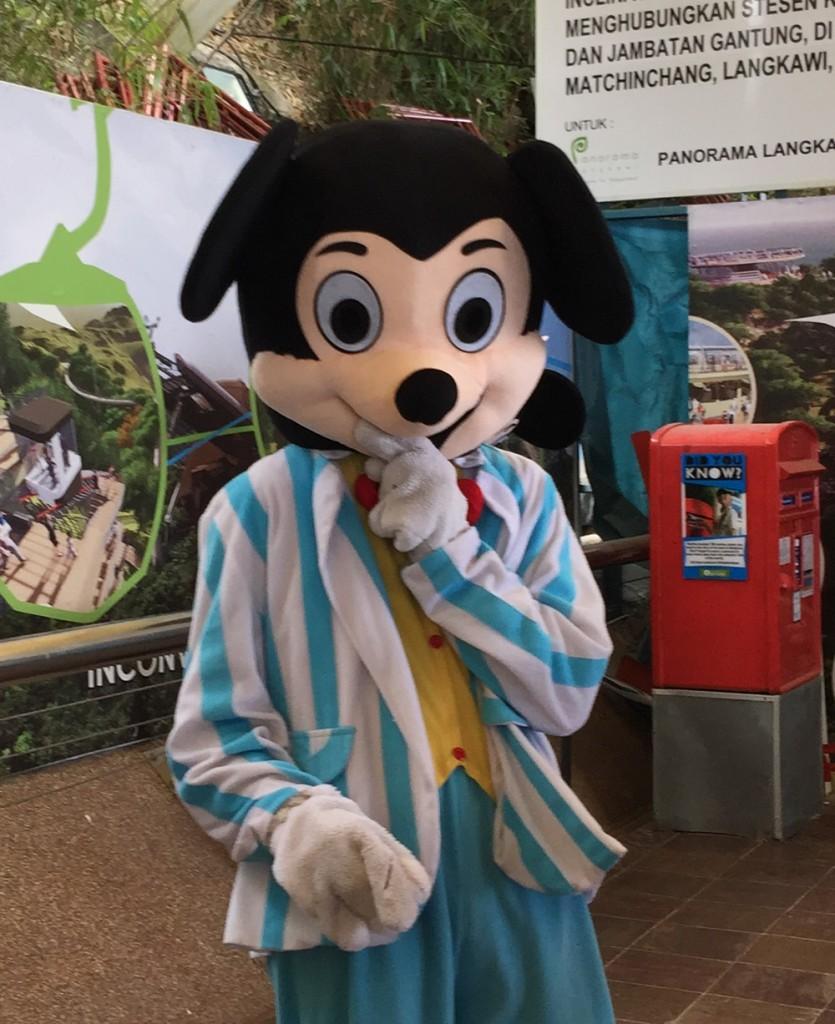 偽ミッキーマウス