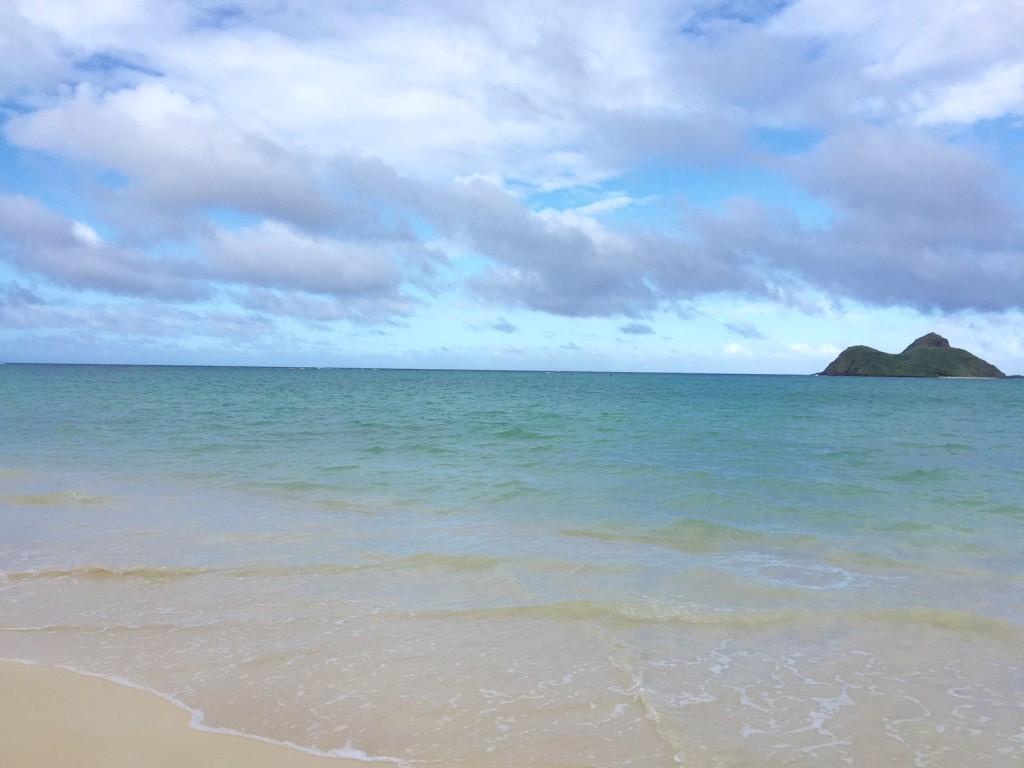 ラニカイビーチ(アメリカオアフ島)