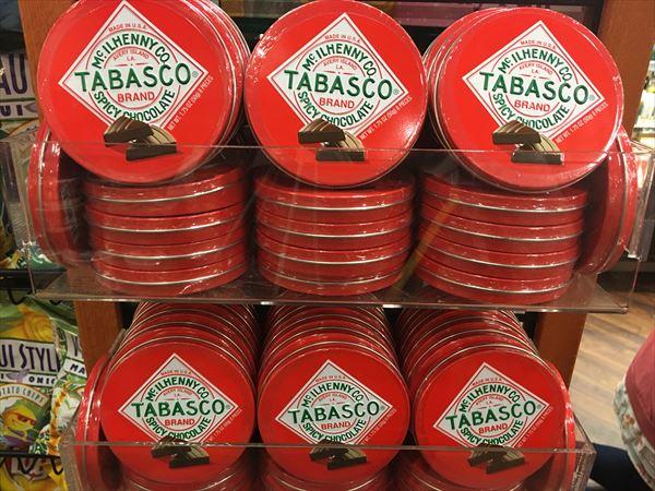 タバスコのチョコレート