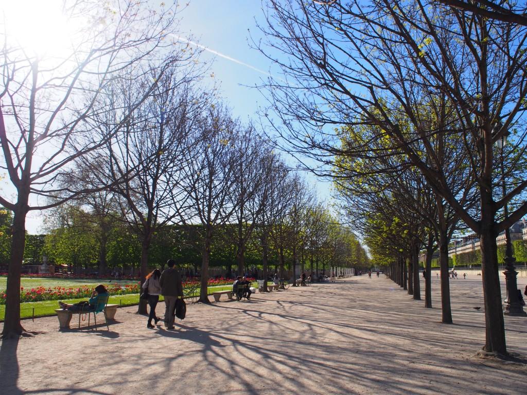 チュイルリー公園(Jardin des Tuileries)