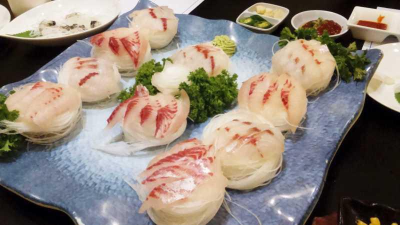白身魚4種盛合せ
