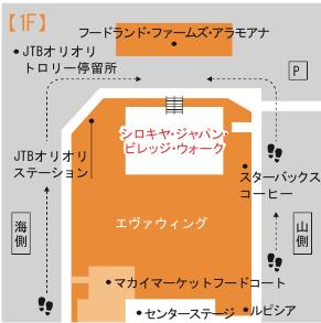 シロキヤ・ジャパン・ビレッジ・ウォーク