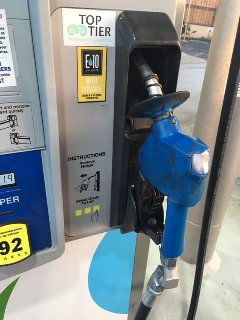 ガソリンの入れ方